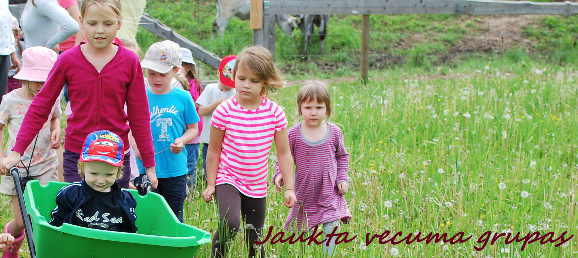 Jaukta vecuma grupas Montessori bērnu mājā